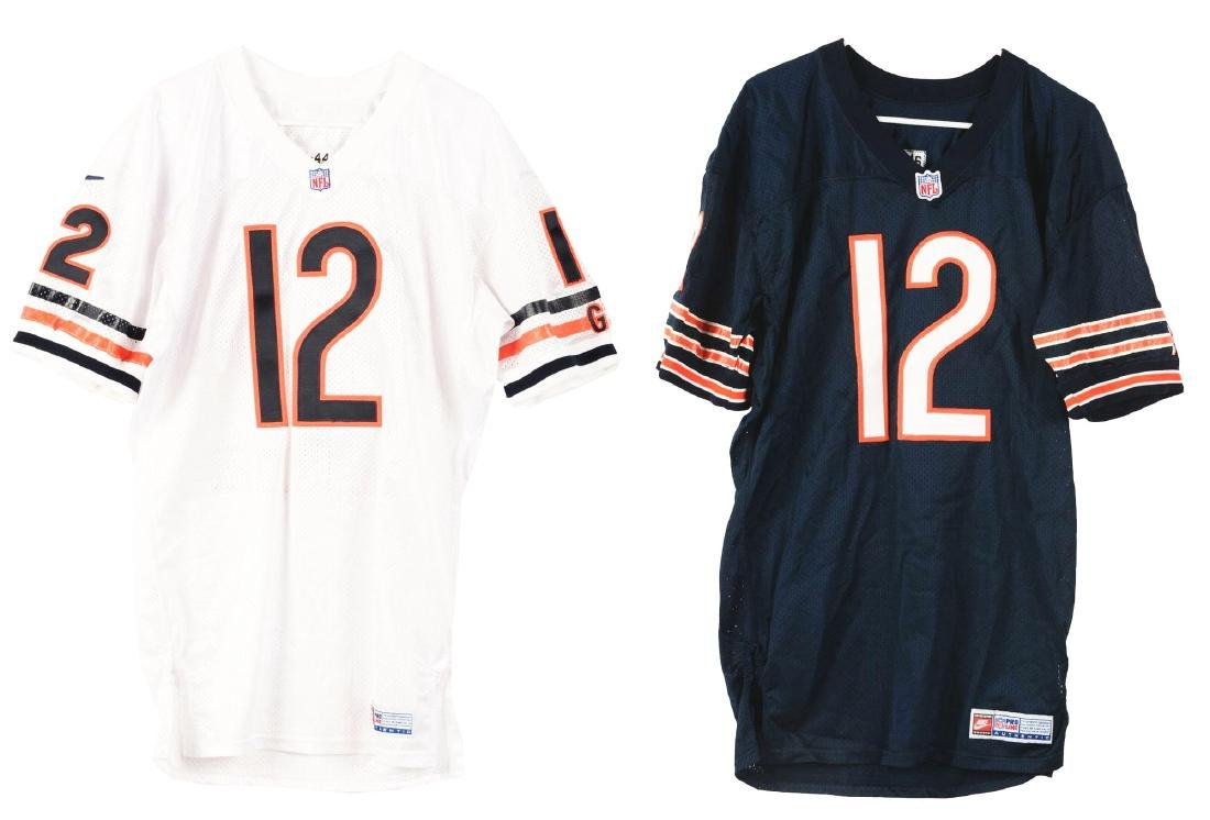 Lot of 2: Erik Kramer Chicago Bears Professional Game