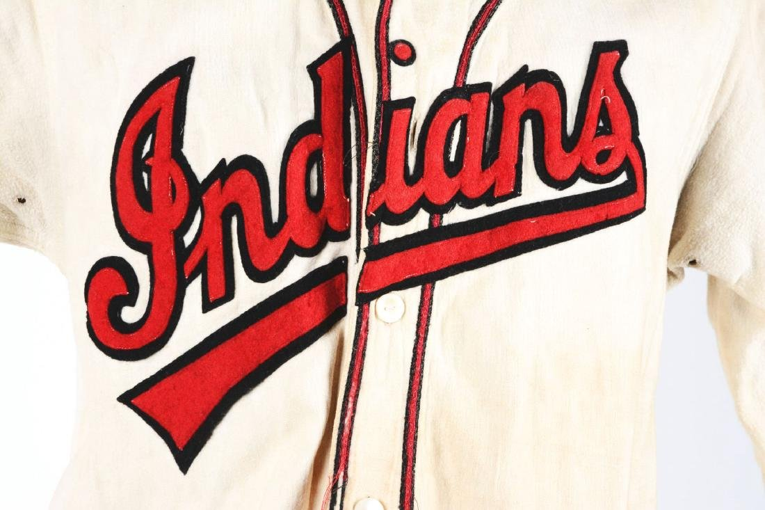 1940-1950's Indians Jersey. - 2