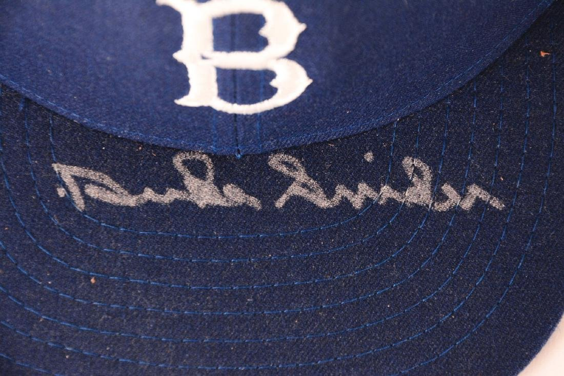 Lot of 2: Willie Mays & Duke Snider Signed Hats. - 2