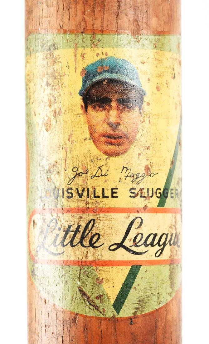Joe Dimaggio Little League Louisville Slugger. - 2