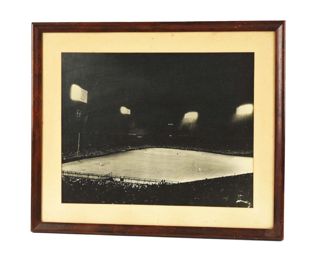 Late 1940's Large Format Photograph of Fenway Park.