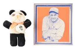 Lot of 2: Early Pre-War Jimmie Foxx Baseball Items.