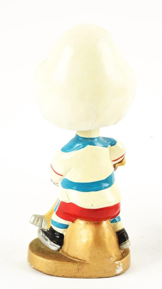 Scarce San Diego Gulls Hockey Bobbin Head Doll. - 2