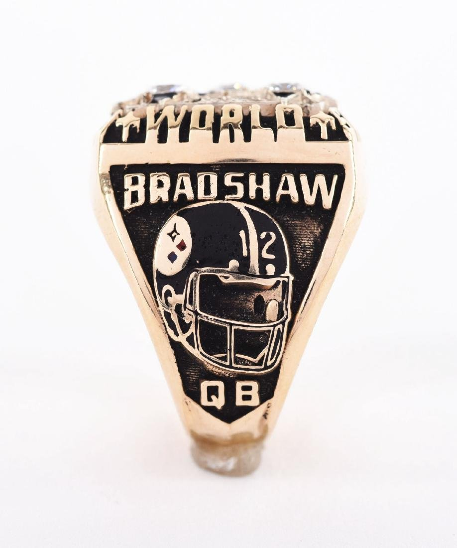 1978 Pittsburgh Steelers Super Bowl XIII Terry Bradshaw - 2
