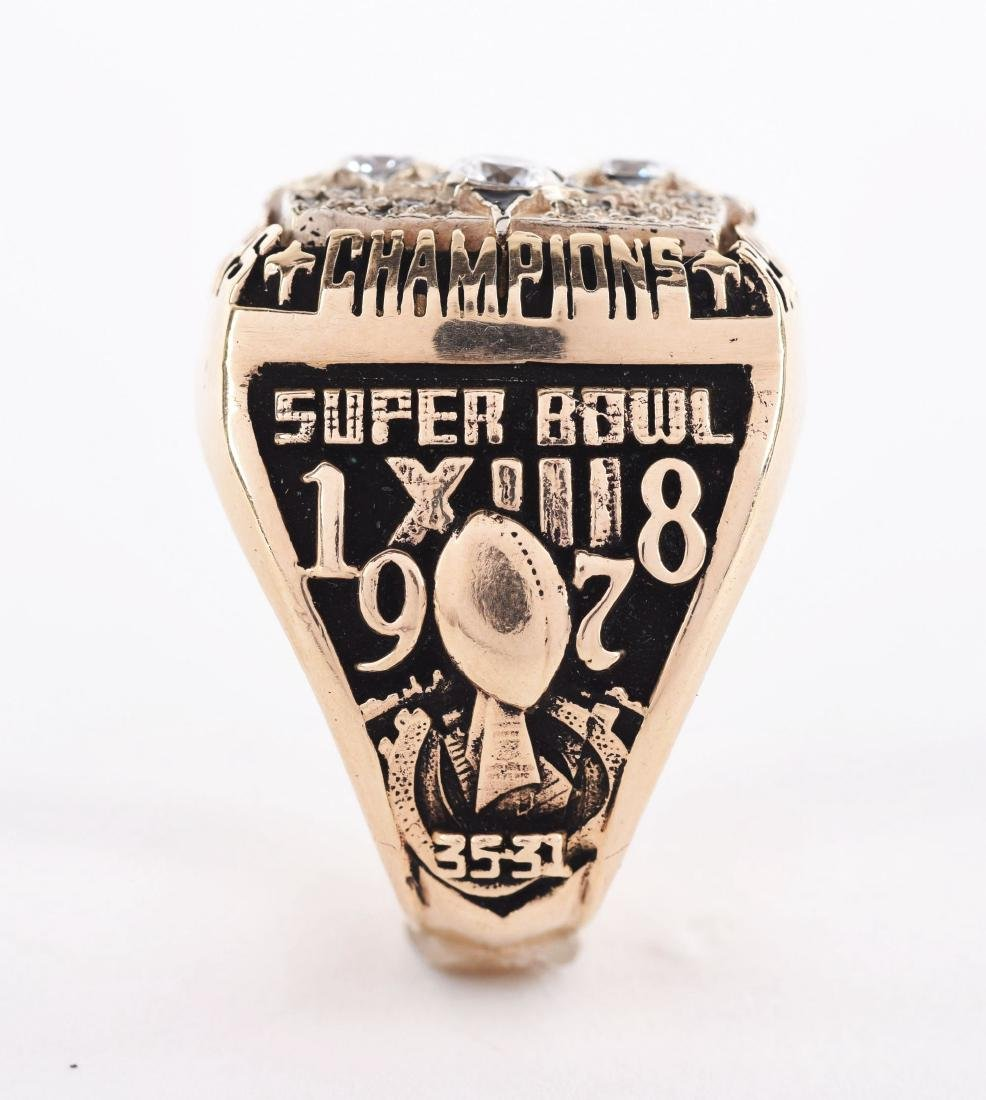 1978 Pittsburgh Steelers Super Bowl XIII Terry Bradshaw - 3