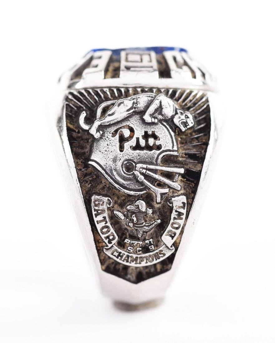 1980 Pitt Football Eastern Champions Players Ring. - 2