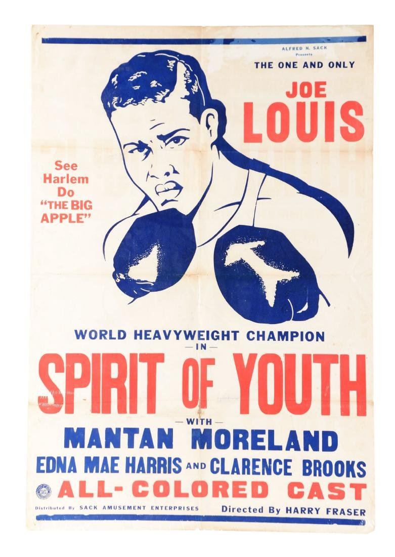 Joe Louis Spirit of Youth Play.