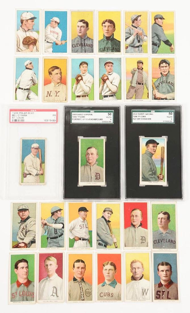 Lot of 520: American Tobacco Co. T206 Baseball Card Set