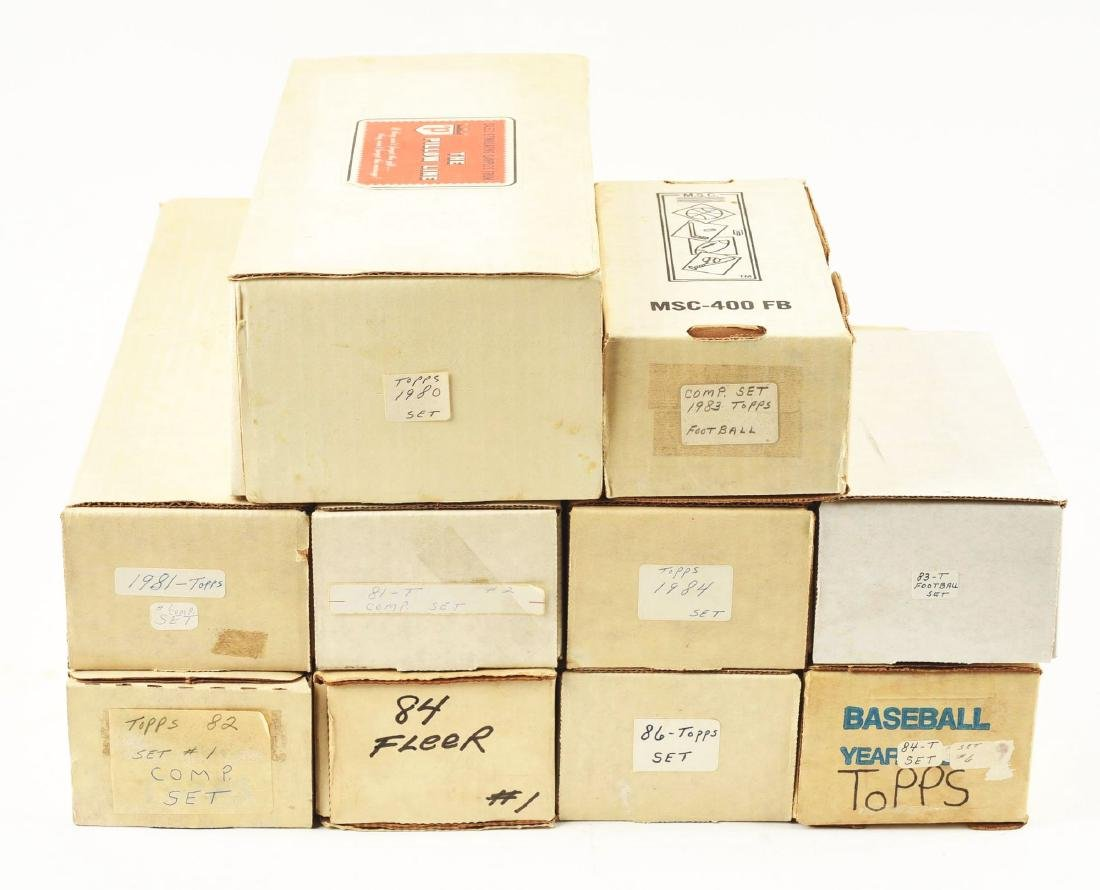 Extra Large Lot of 1960-80's Baseball Card Group.