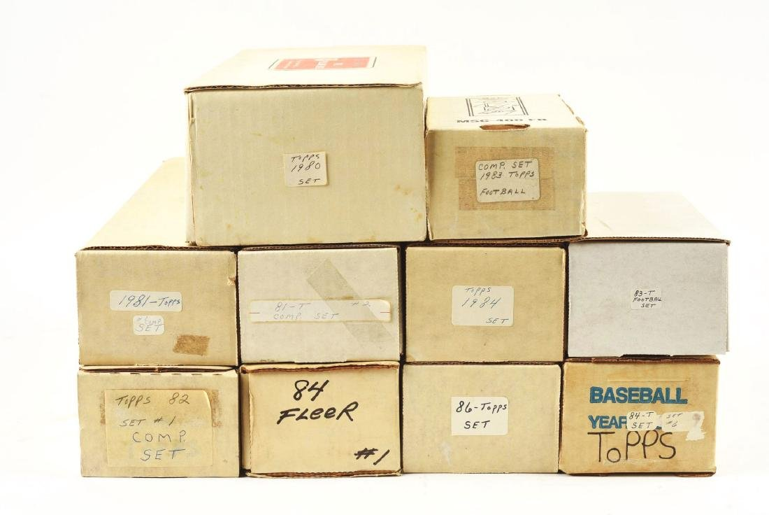 Extra Large Lot of 1960-80's Baseball Card Group. - 2