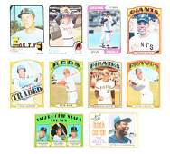 Extra Large 19721974 Topps Baseball Card Group