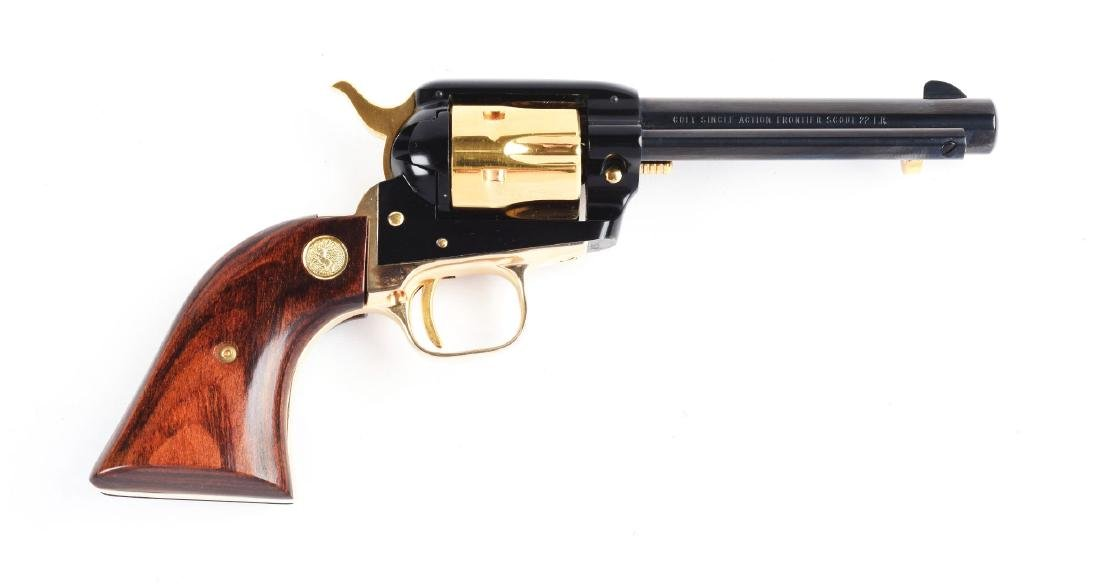 (C) Cased Colt Frontier Scout Oklahoma Diamond Jubilee - 3