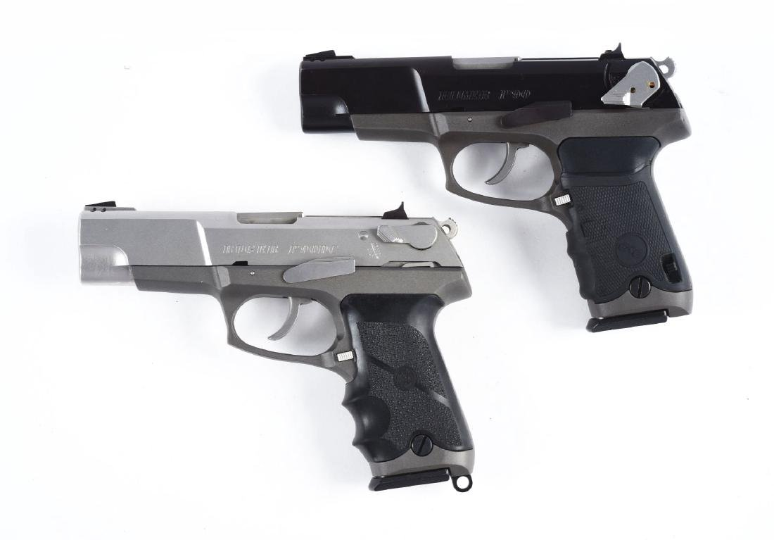 (M) Lot of 2: Ruger Semi-Automatic Pistols. - 2