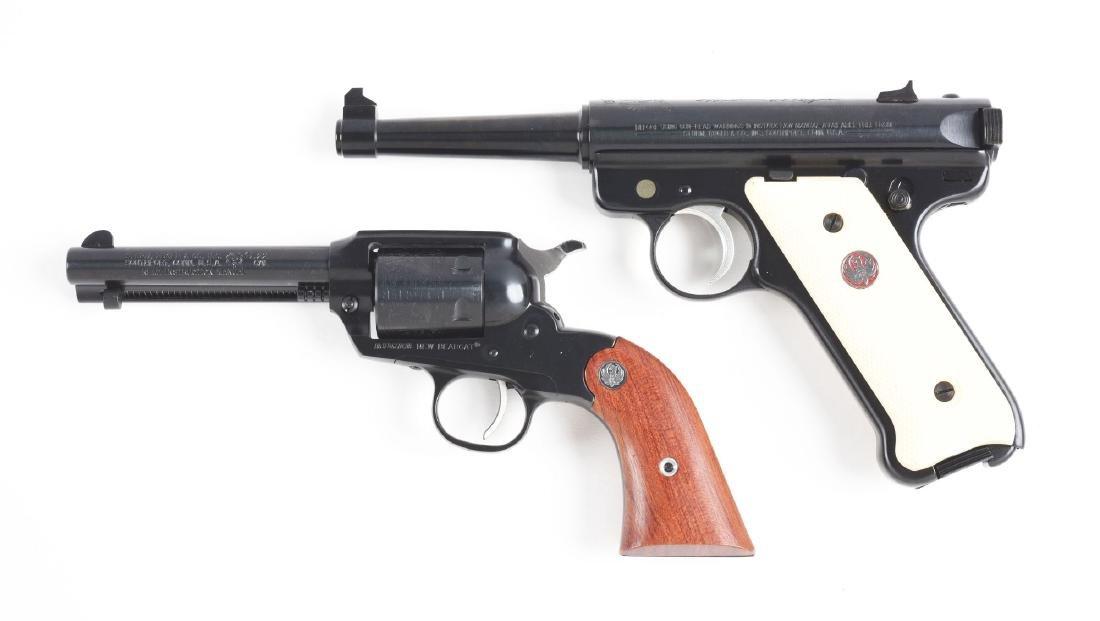 Lot of 2: Cased Ruger Handguns. - 2