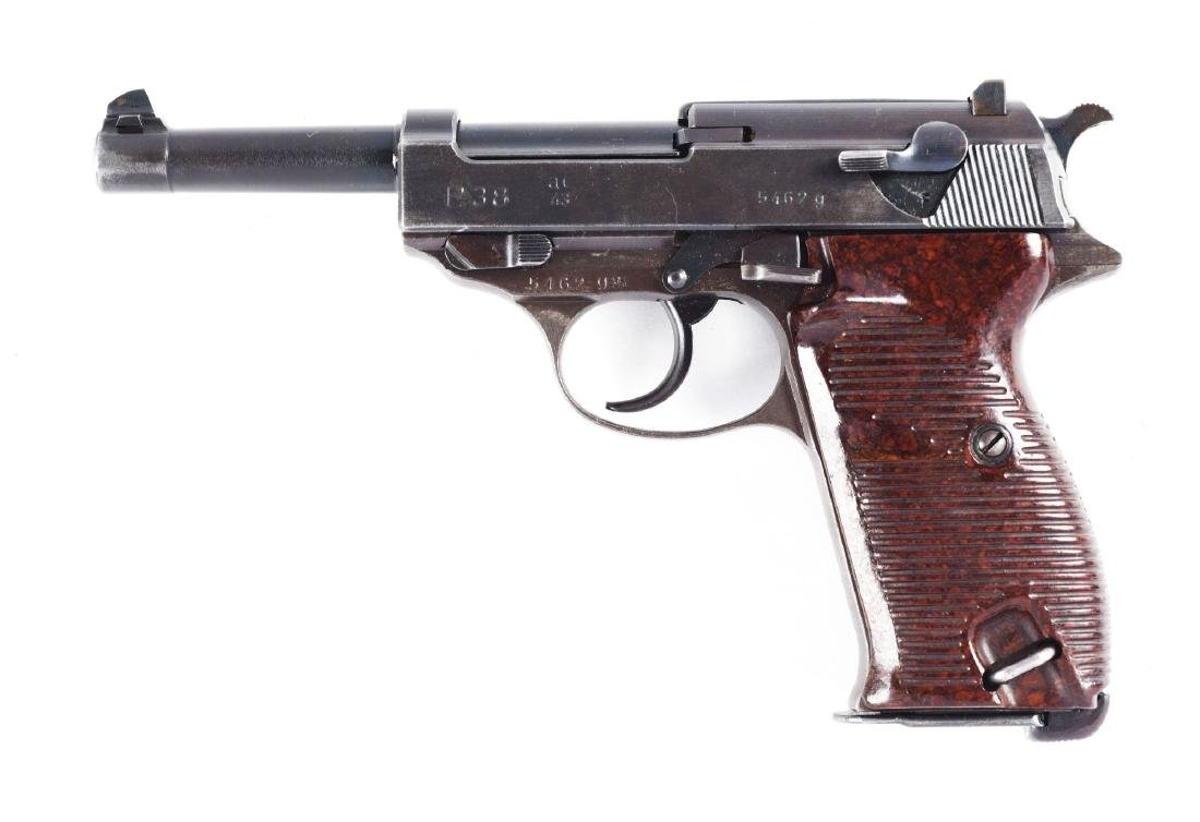 (C) Nazi Marked Walther P-38 Semi-Automatic Pistol. - 2