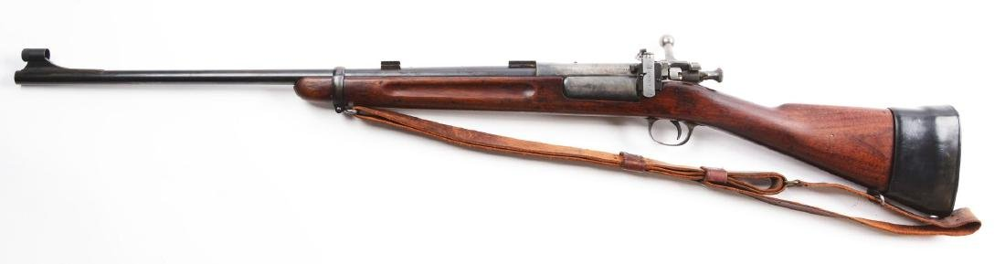 (C) Custom Krag Model 1898 Bolt Action Sporting Rifle. - 2