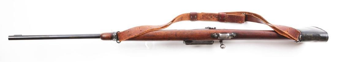(C) Custom Krag Model 1898 Bolt Action Sporting Rifle. - 4