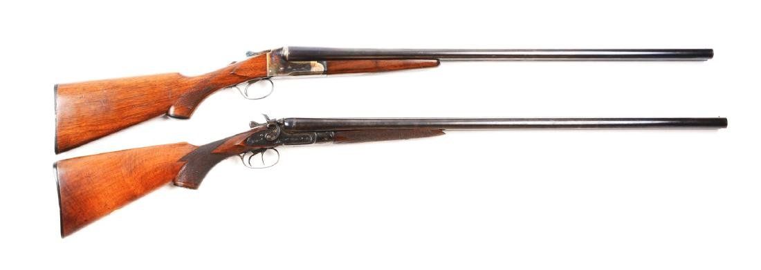 (C) Lot of 2: Lefever and Stanley Arms 12 Bore Double