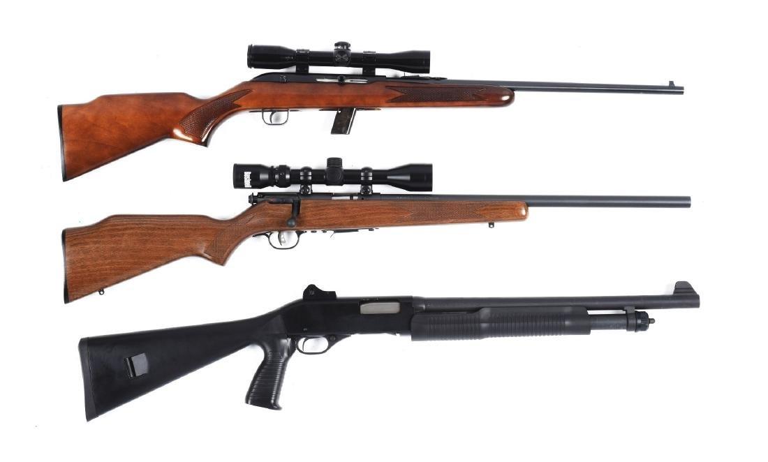 (M) Lot of 3: Shotgun & Rifles.