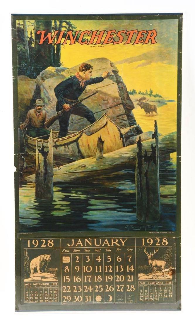 1928 Winchester Calendar.