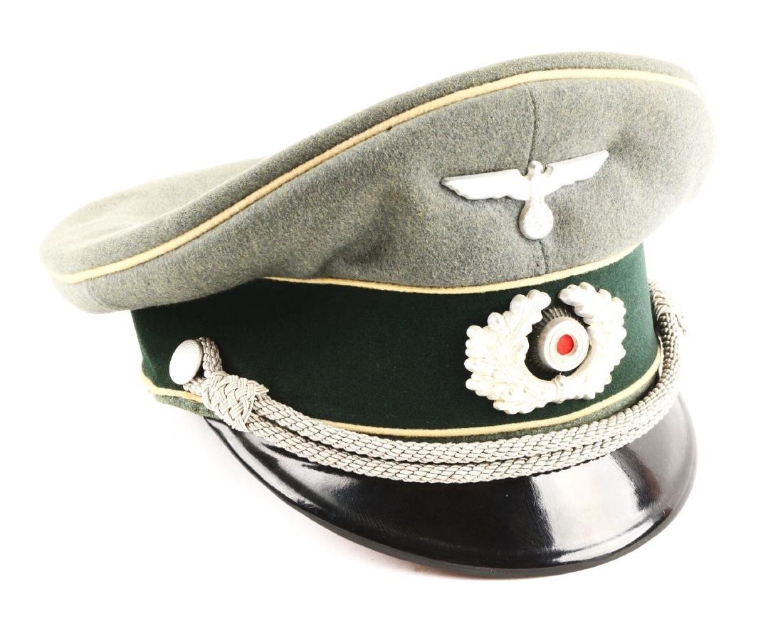 WWII German Heer Infantry NCO Visor Cap.
