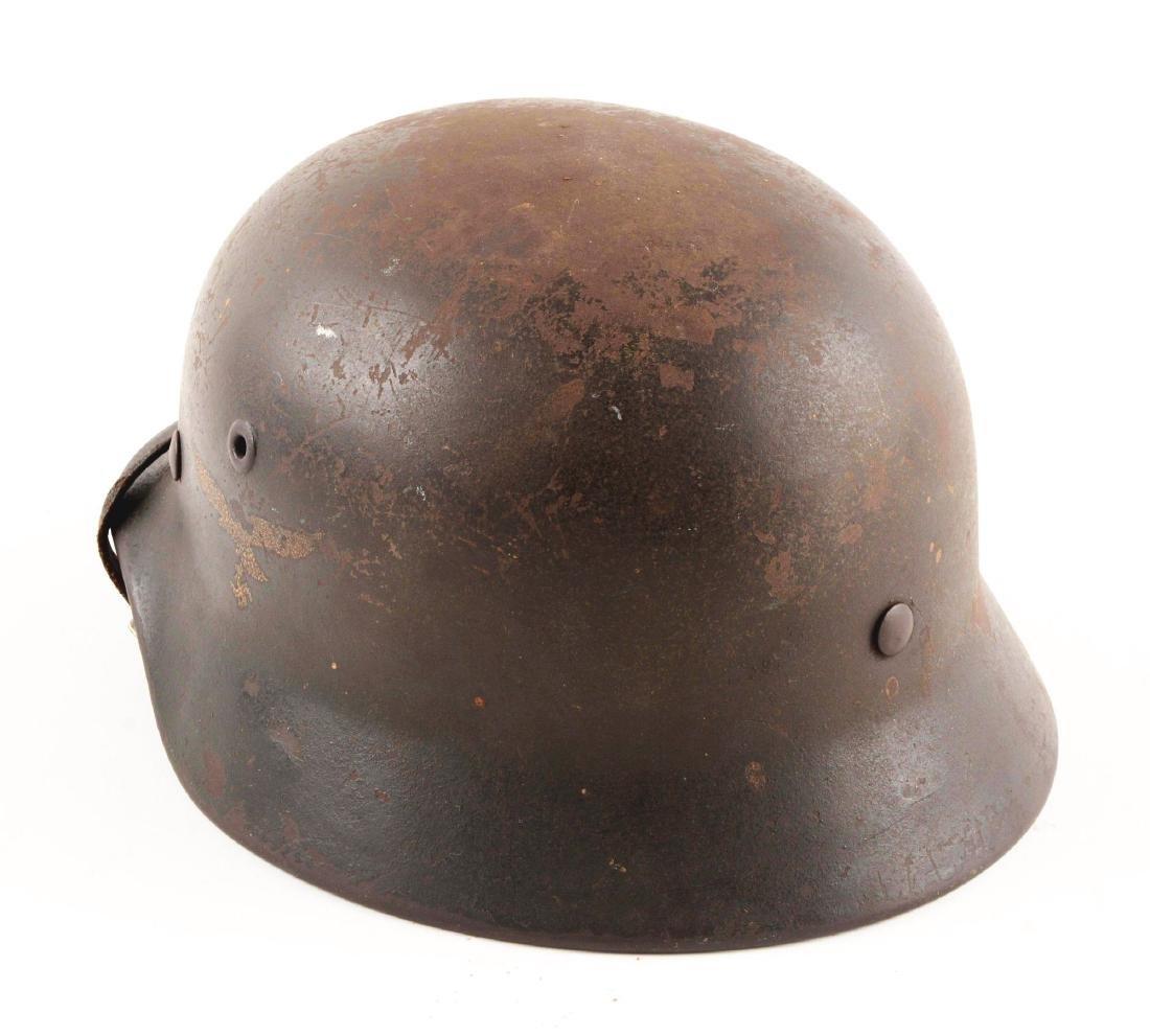 WWII German Luftwaffe M40 Single Decal Helmet - 2