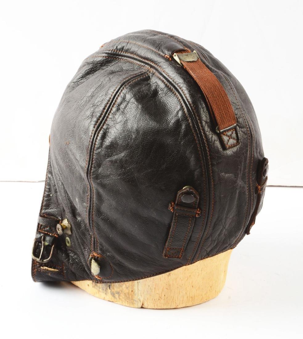 Lot Of 3: Rare WWII German Flight Helmet, Signal Cover - 2