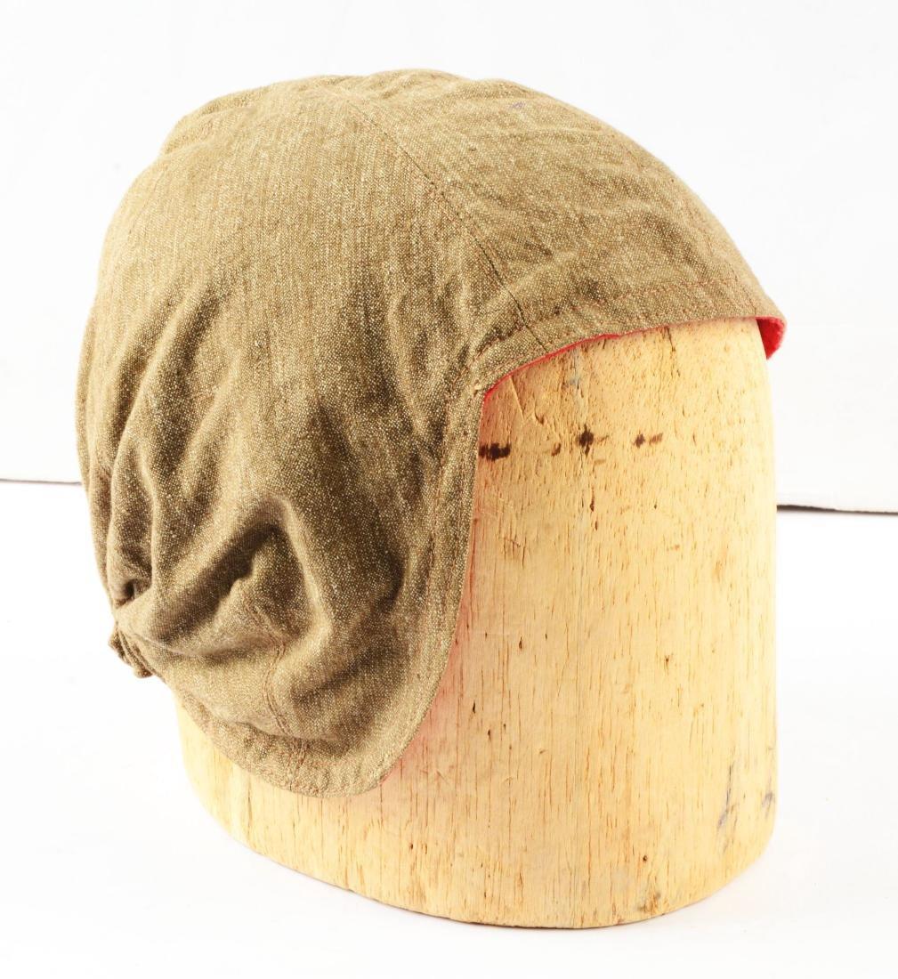 Lot Of 3: Rare WWII German Flight Helmet, Signal Cover - 3
