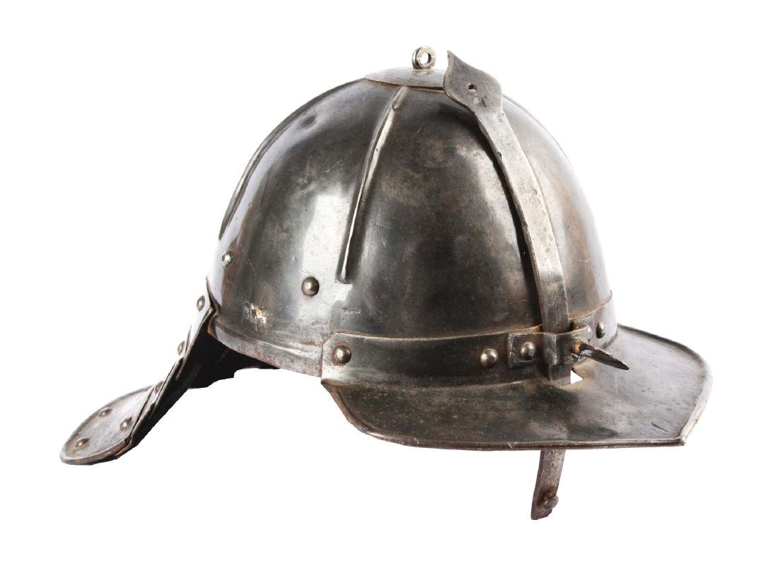 Cromwellian Lobster Tail Helmet or Ziscahagge.