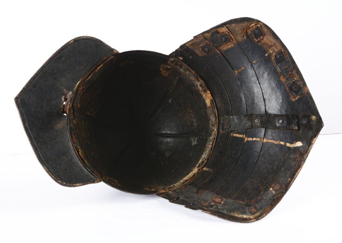 Cromwellian Lobster Tail Helmet or Ziscahagge. - 3