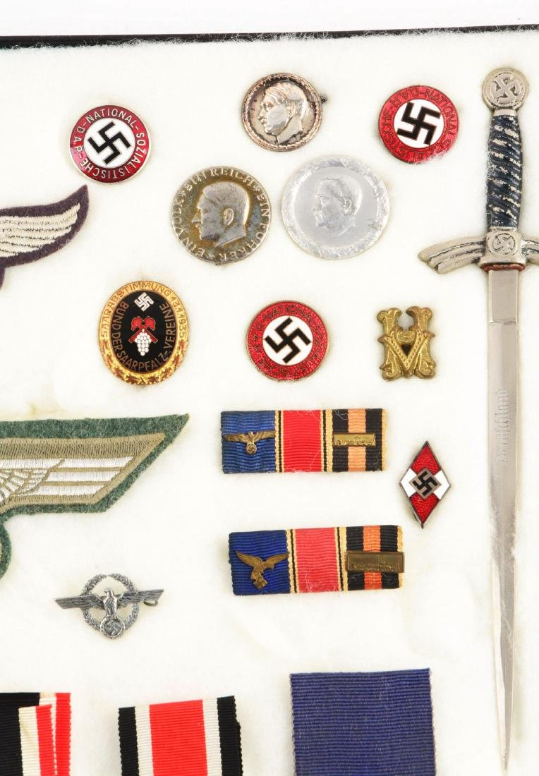 Lot of 30: WWII German Medals, Pins, Badges & Mini - 2