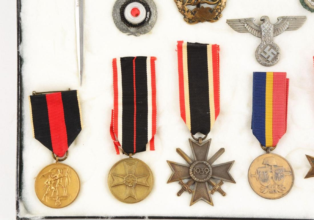 Lot of 30: WWII German Medals, Pins, Badges & Mini - 4