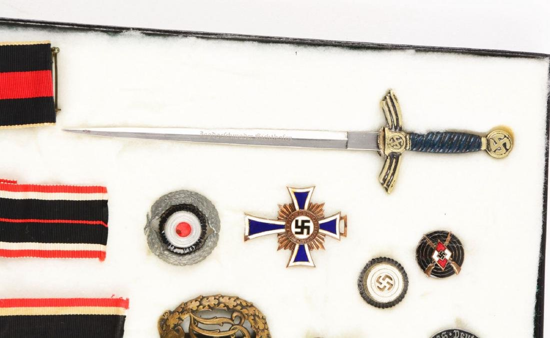 Lot of 30: WWII German Medals, Pins, Badges & Mini - 5