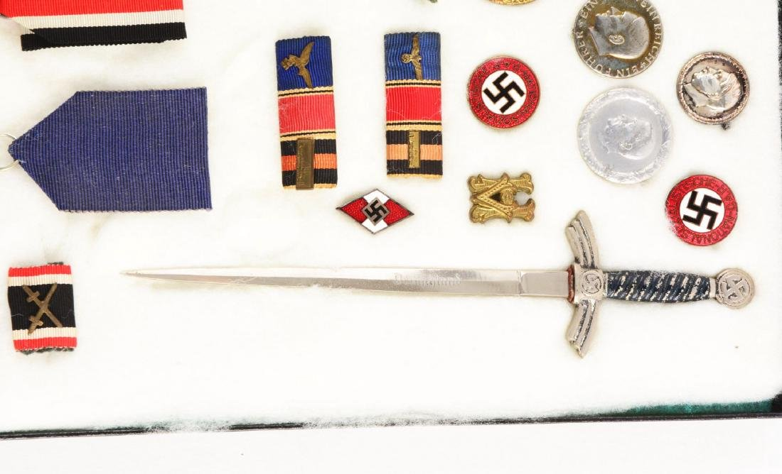 Lot of 30: WWII German Medals, Pins, Badges & Mini - 6