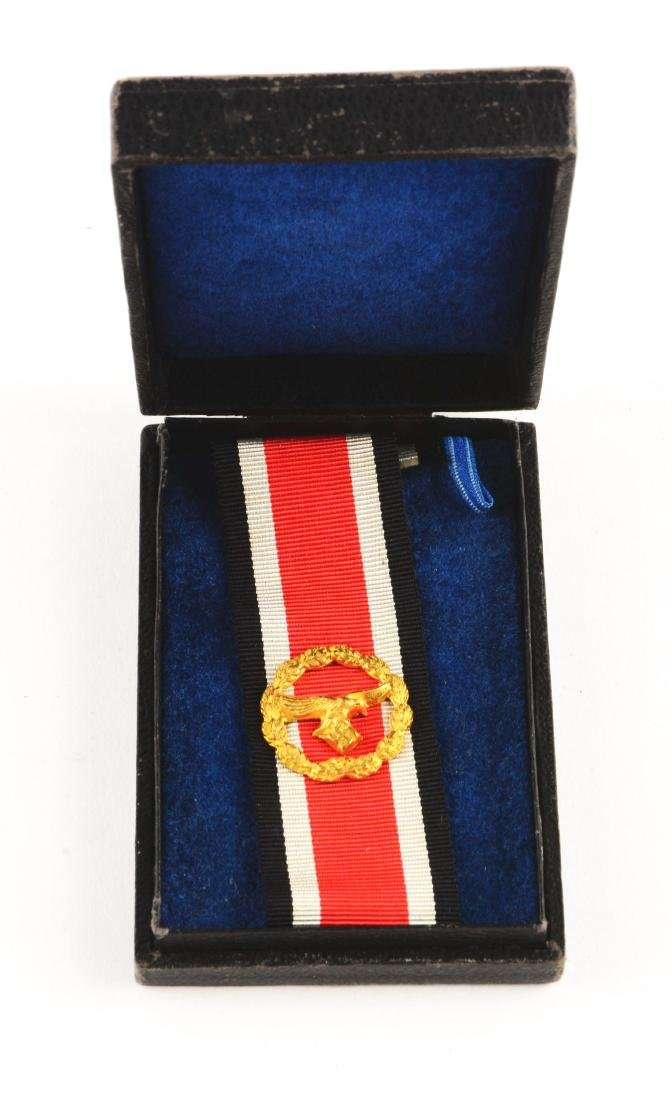 WWII German Cased Luftwaffe Honor Roll Clasp.
