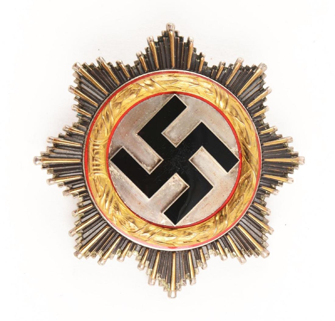 WWII German Cross in Gold. - 2