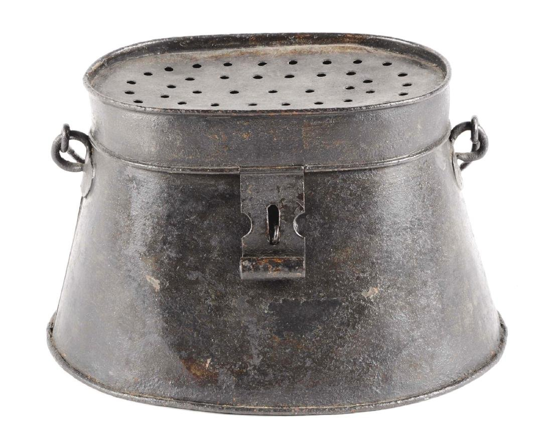 Early Pre-1900 Minnow Bucket.