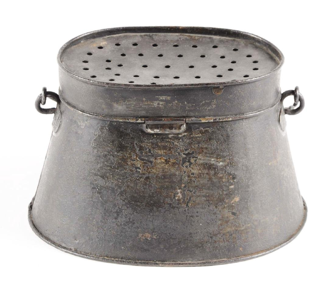 Early Pre-1900 Minnow Bucket. - 3