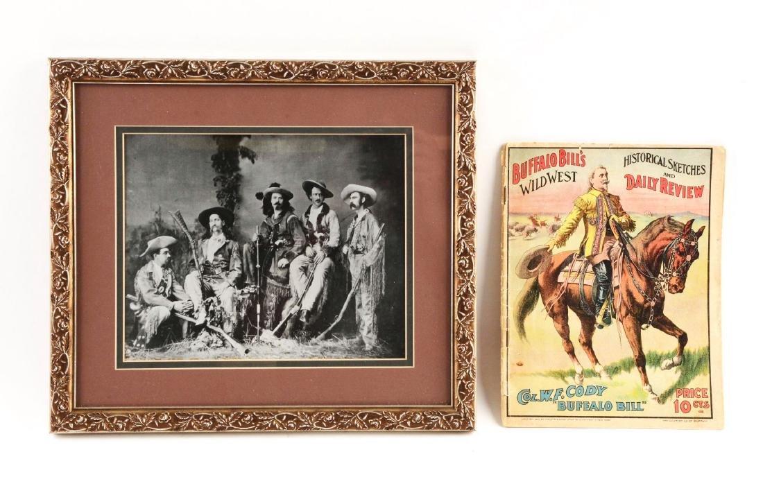 Buffalo Bill's Wild West Program.