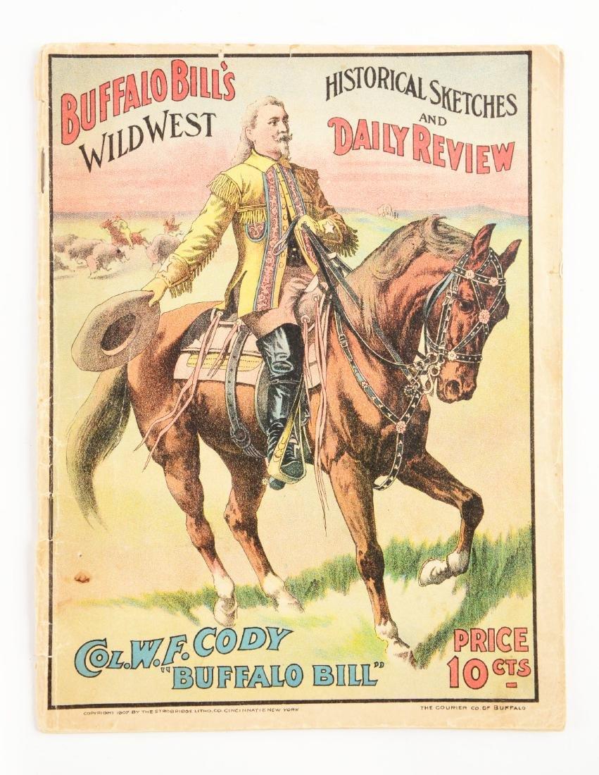 Buffalo Bill's Wild West Program. - 3