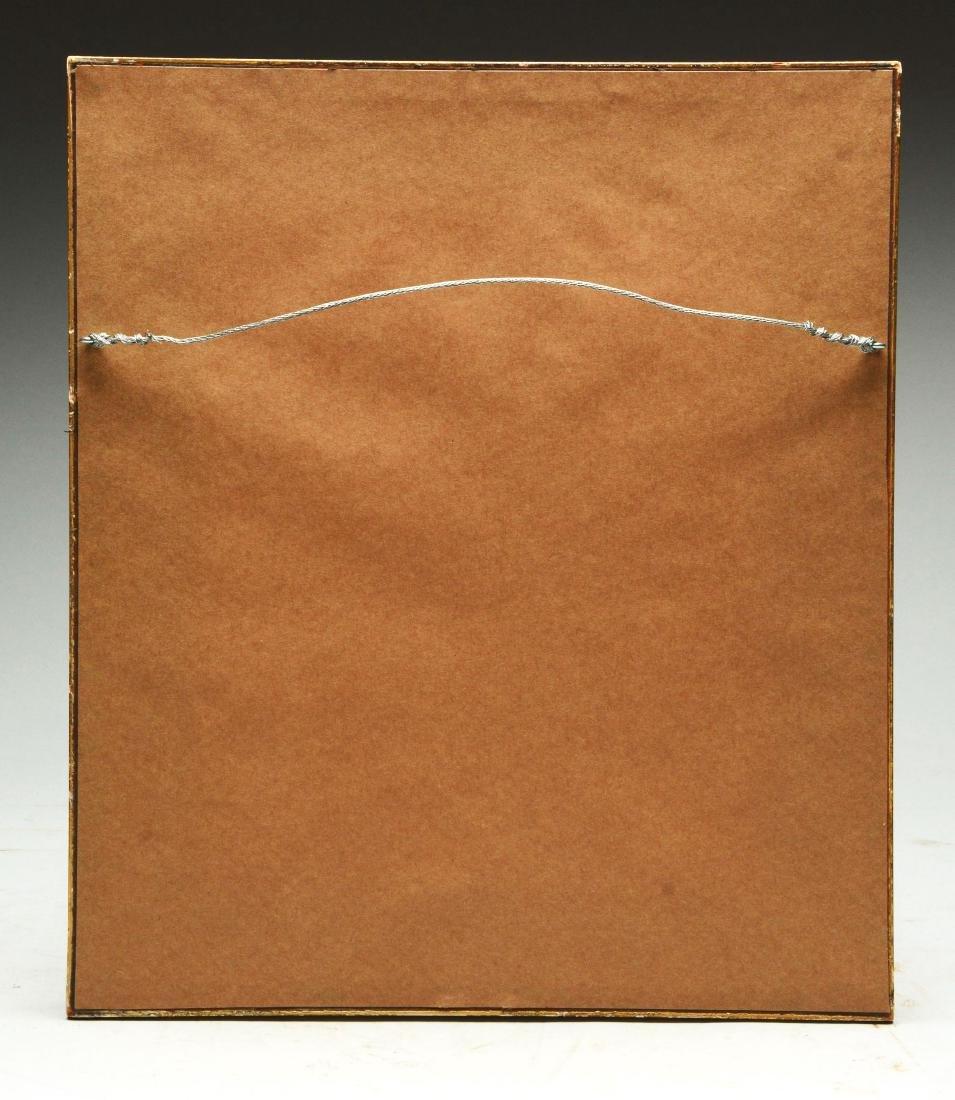 Original Early Buffalo Bill Framed Cabinet Card (CDV). - 2