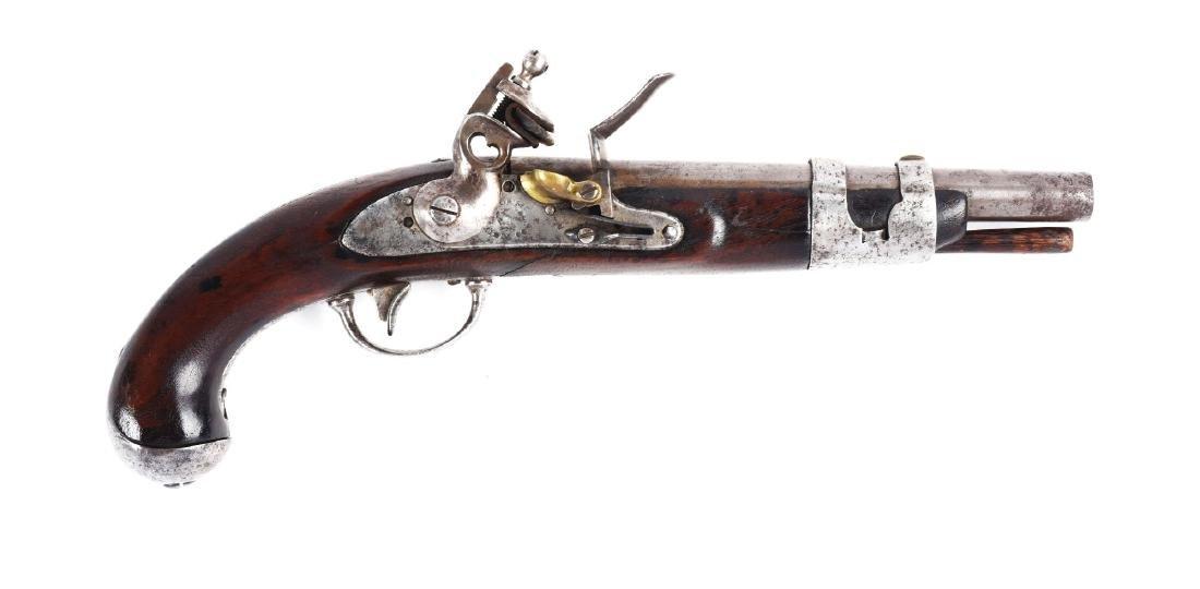 (A) U.S. Model 1816 Flintlock Single Shot Martial