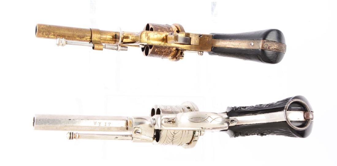 (A) Lot of 2: Systeme Lefaucheaux Pinfire Double Action - 4