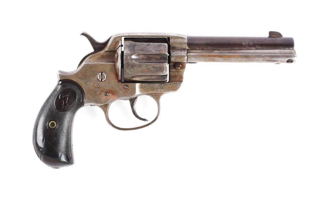 (A) Colt Model 1878 .44 Double Action Revolver.