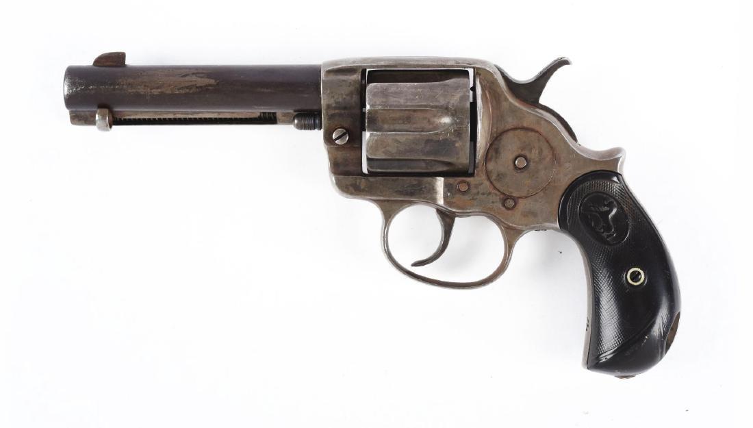 (A) Colt Model 1878 .44 Double Action Revolver. - 2