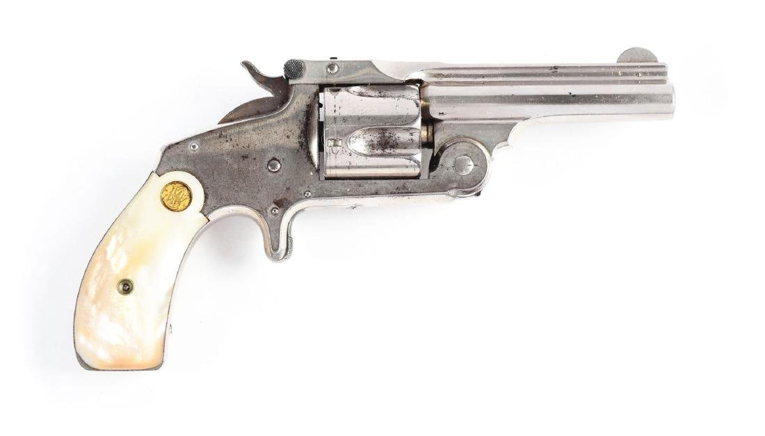 (A) Boxed S&W Model 2 2nd Issue Spur Trigger Single - 2