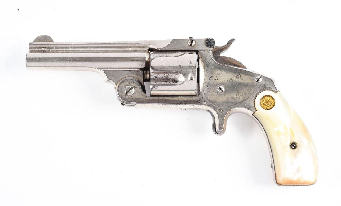 (A) Boxed S&W Model 2 2nd Issue Spur Trigger Single - 3