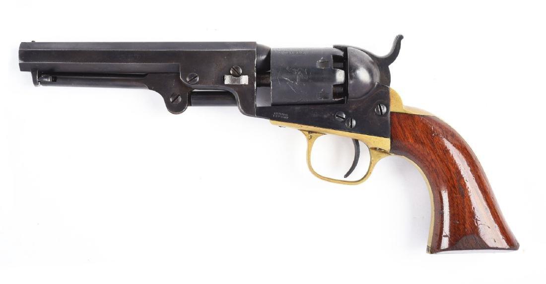 (A) Colt Model 1849 Percussion Pocket Revolver. - 2