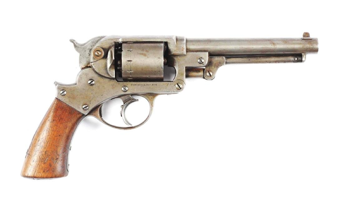 (A) Starr Arms Co. Double Action Model 1858 Army