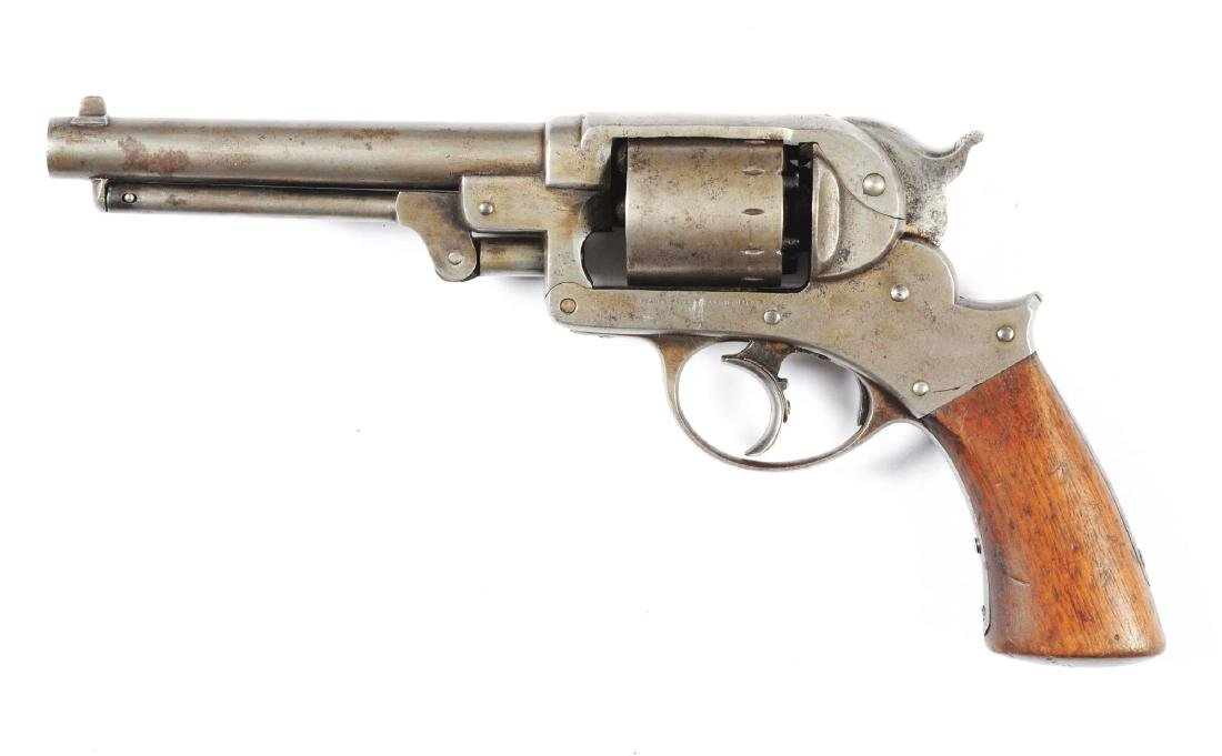 (A) Starr Arms Co. Double Action Model 1858 Army - 2
